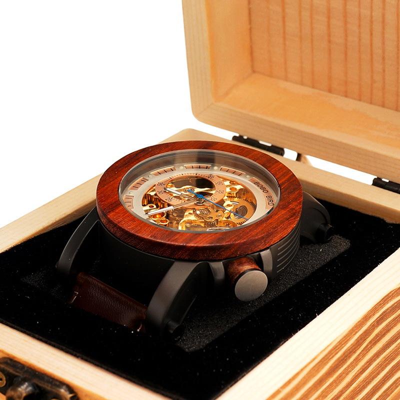 механические часы скелетоны