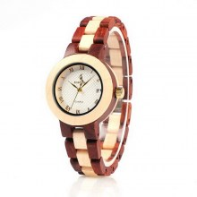 wood watch women